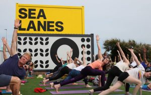win a swim training or yoga session at sea lanes