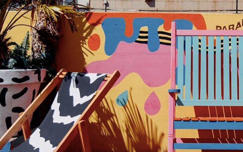 Brighton Artist Creates Uks First Art Basketball Court Community