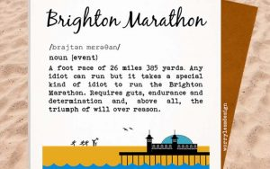 swag: £100 of brighton marathon goodies up for grabs