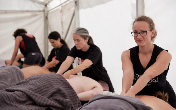 charity massage marathon returns to jubilee square